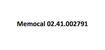 Memocal 02.41.002791